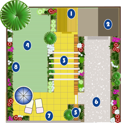 Thai Garden Design (1) - The Hidden Thai Garden - Thai Garden ...