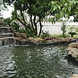 Large Natural Rock Waterfall and Garden Design in Hua Hin