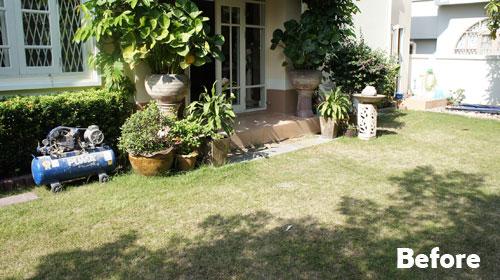 Traditional Thai Sala & Raised Pool Deck - Thai Garden Design - The