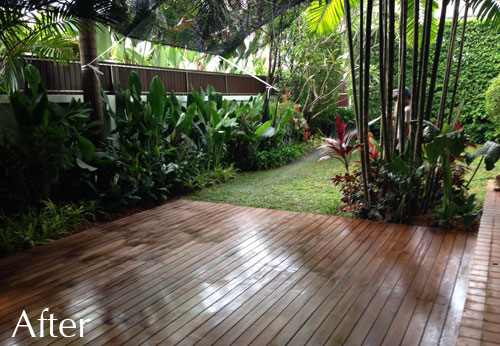 Garden Design Malaysia sun deck terrace and new garden - bangkok - thai garden design