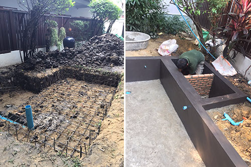 pond builder thailand