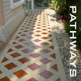 garden pathways in bangkok and thailand
